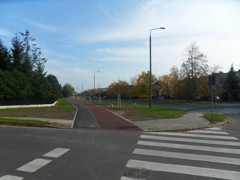 Ścieżka rowerowa na ul. Zamojskich?