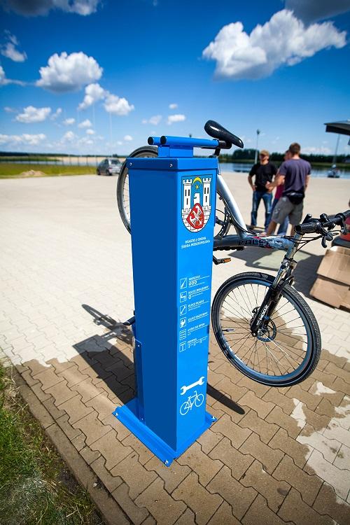 Stacje rowerowe w Środzie